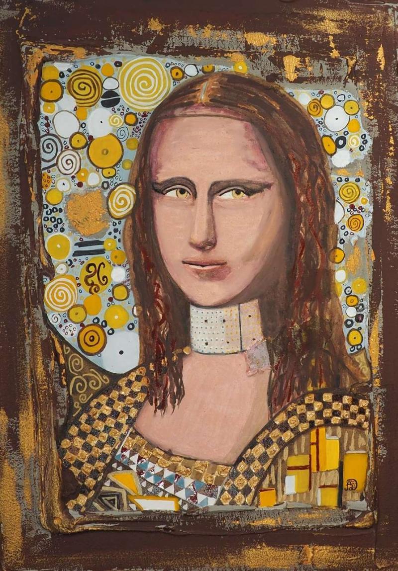 Ma Mona Klimt par Artedelph