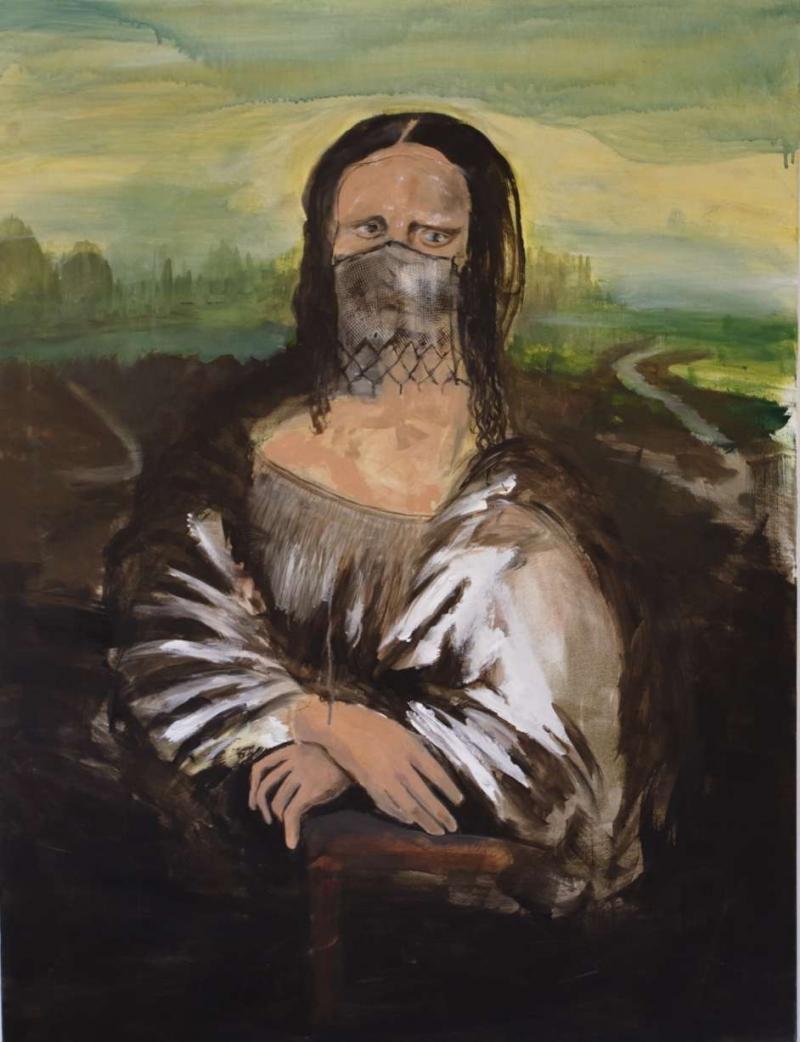 Mona Lisa masquée par Kurtdies