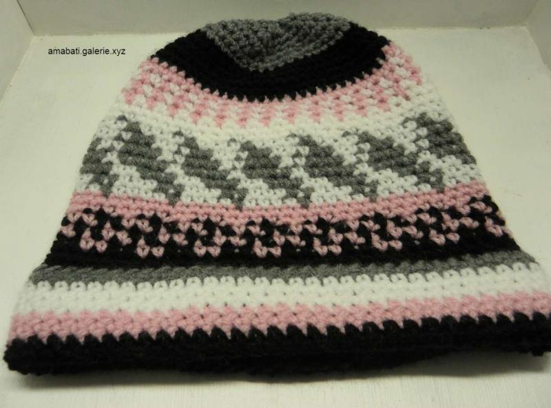 Bonnet Multicolore taille M/L - mode hiver 2020