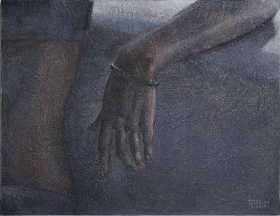 La main au bracelet par Magali Jallon