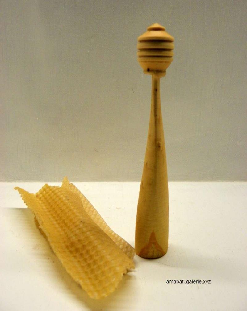 cuillère à miel en buis N°5