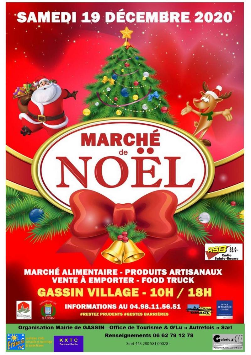 Marché de Noël à Gassin (dpt 83 )