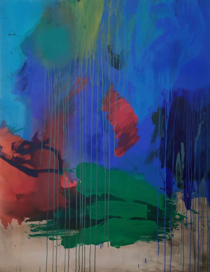 Paysage Abstrait par Maddens