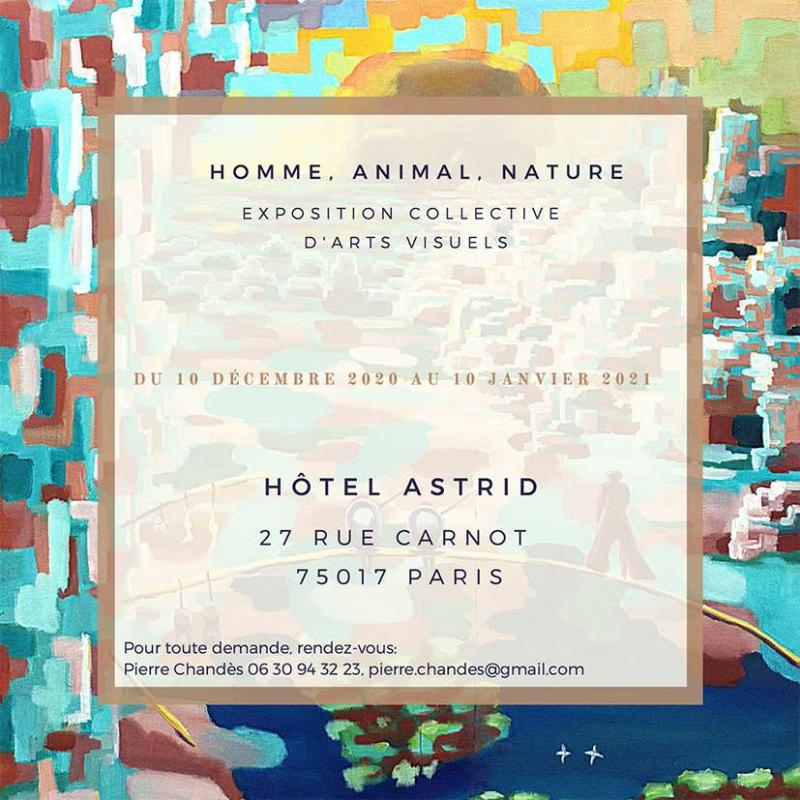 Exposition homme, animal, nature (dpt 75)