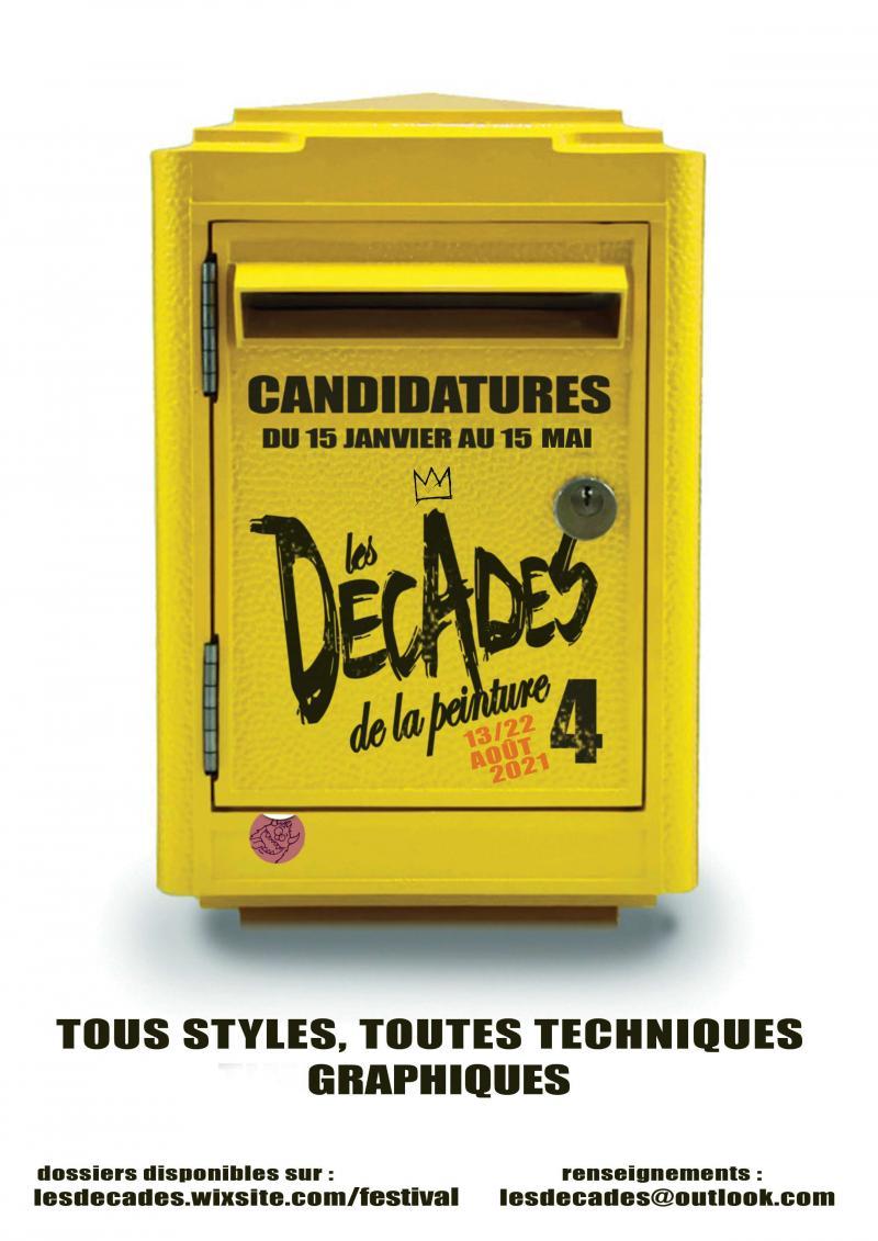Appel à candidature Décades de la peinture 4 (Auvergne)