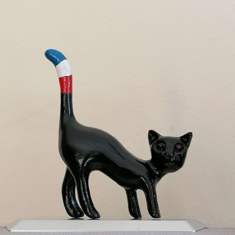 Chat noir diabolique