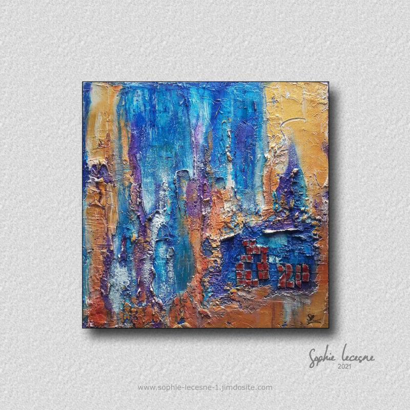 Mosaïque par Sophie Lecesne - prix 200€