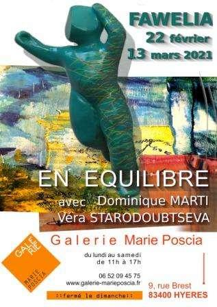 "Exposition "" En Equilibre "" - ( dpt 83 )"