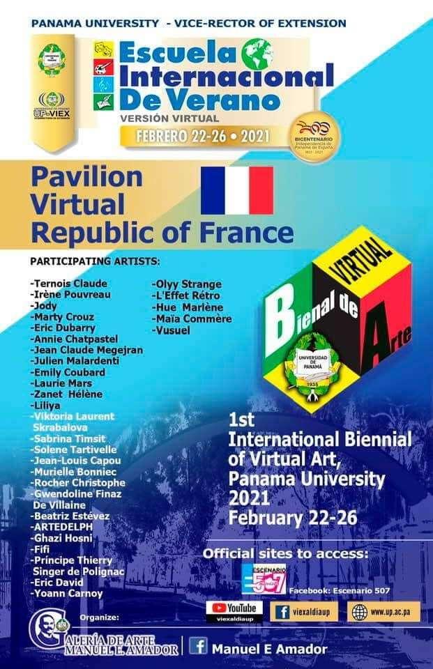 1ère Biennale Internationale d'Art Virtuel au Panama