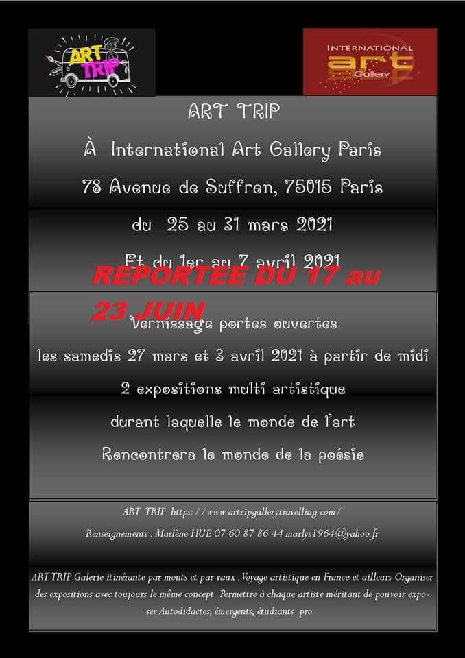 Exposition collective à la Galerie Art International (dpt 75)