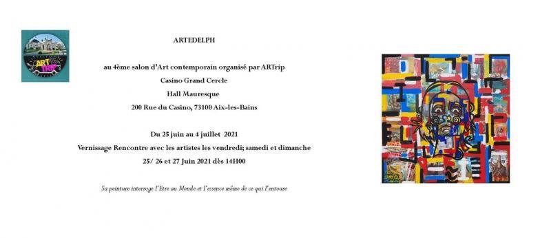 Exposition d' ARTEDELPH au Casino d'Aix les Bains (dpt 73)