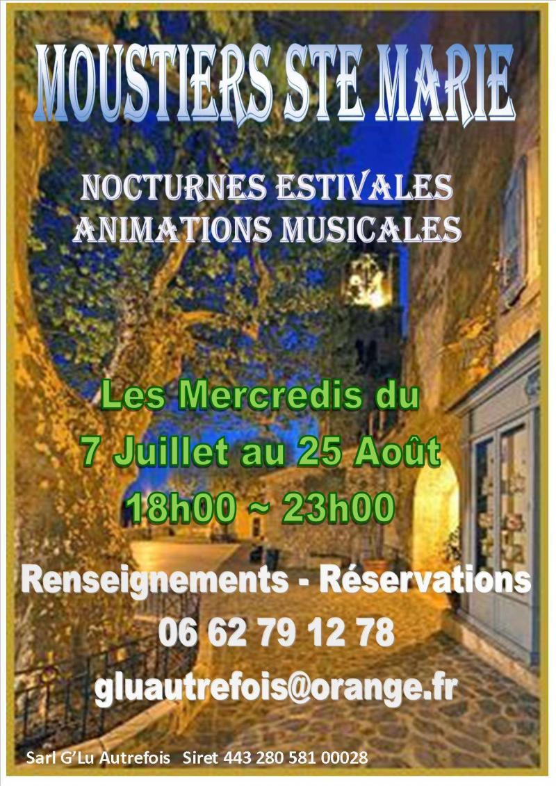 Nocturnes Moustiers Sainte Marie ( dpt 04 )