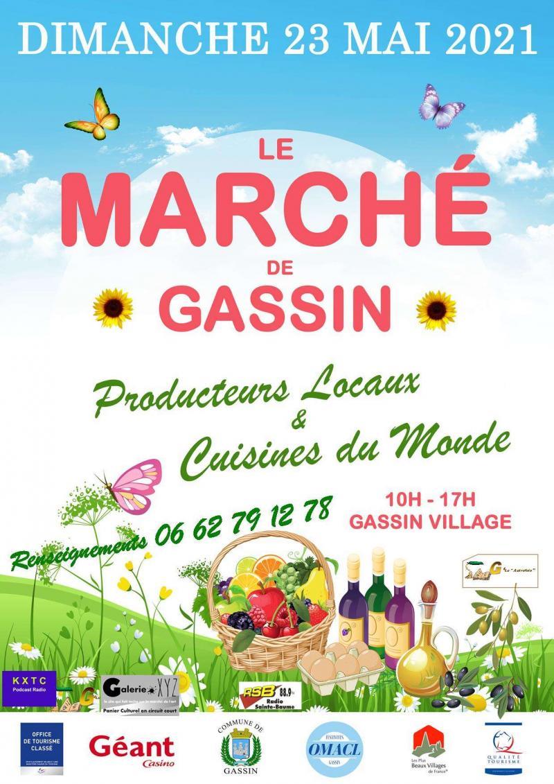 Le marché de Gassin (dpt 83)