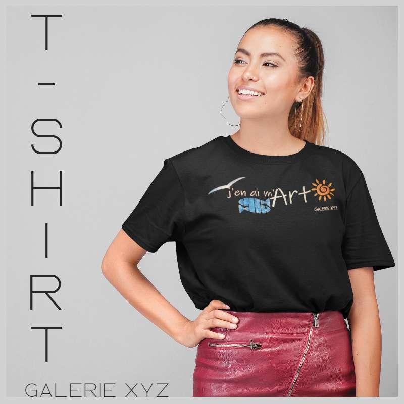 "T-Shirt ""J'en ai m'Art"" Galerie XYZ"