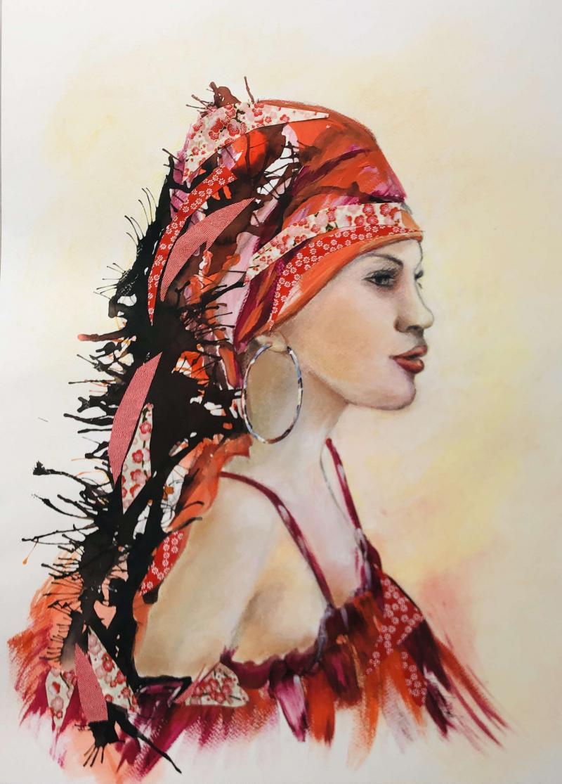 Le rouge et le noir par Ghislaine Caprin
