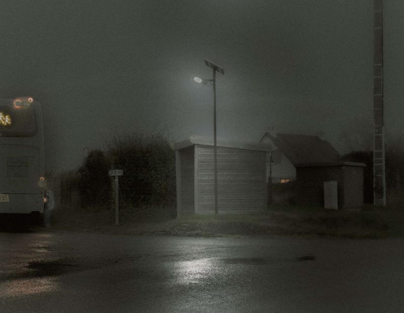 LE CAR SCOLAIRE par Gilles Petit-Gats