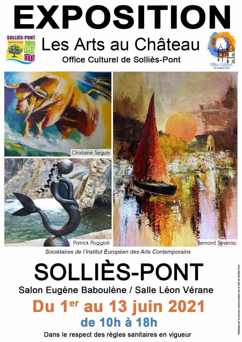 Exposition Château Sollies Pont (dept 83)