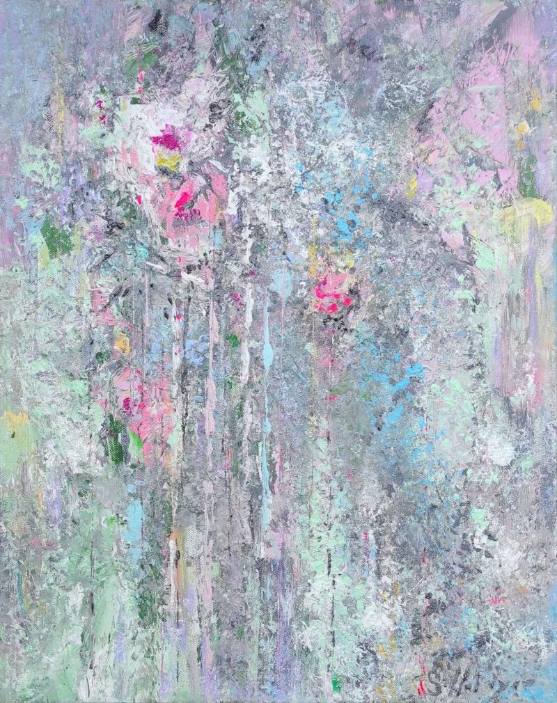 Fleurs du printemps par Sylvie Metayer