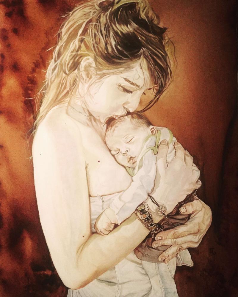 La maternité par Isabelle Garcia