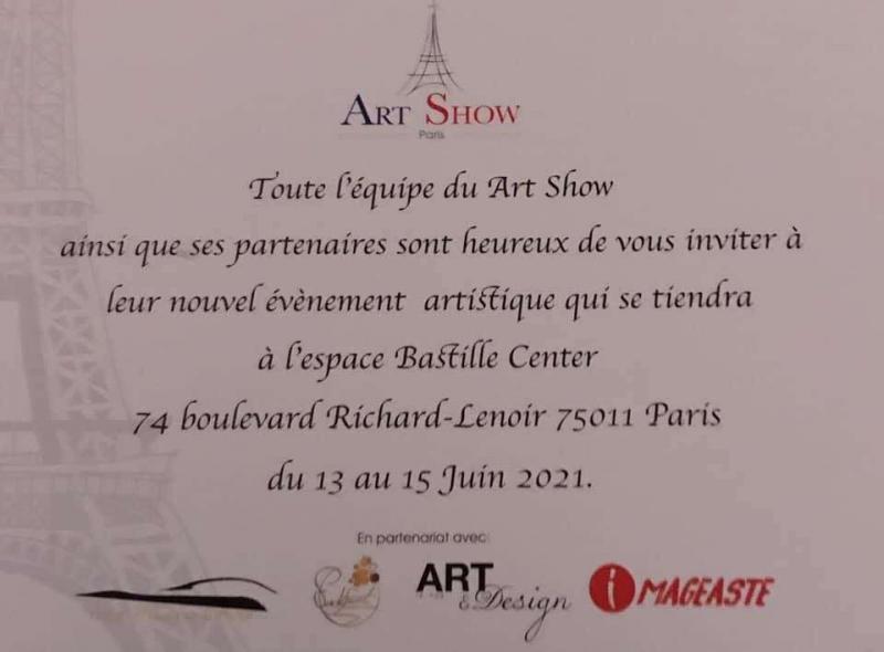 EXPOSITION ESPACE BASTILLE 75011 PARIS