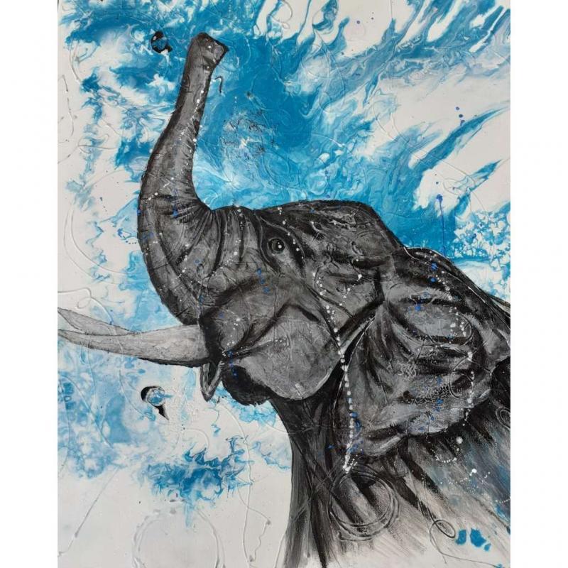Éléphant 1 par Soucy Création