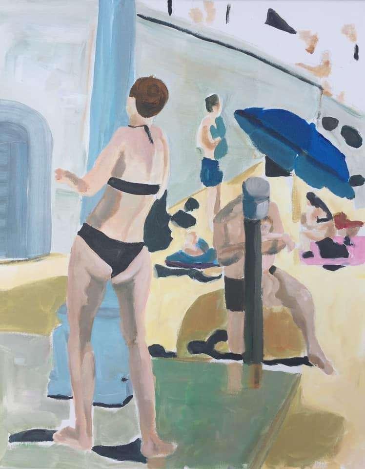 Mes contemporains à l'océan été 2021 par Sandrine Carobbé
