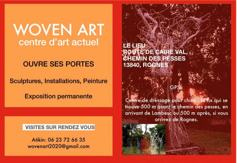 Woven art Centre d'art actuel ouvre ses portes au public