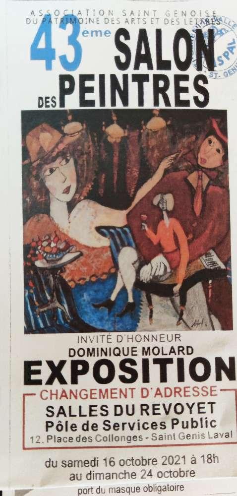 Exposition Collective à St Genis Laval (dpt 69)