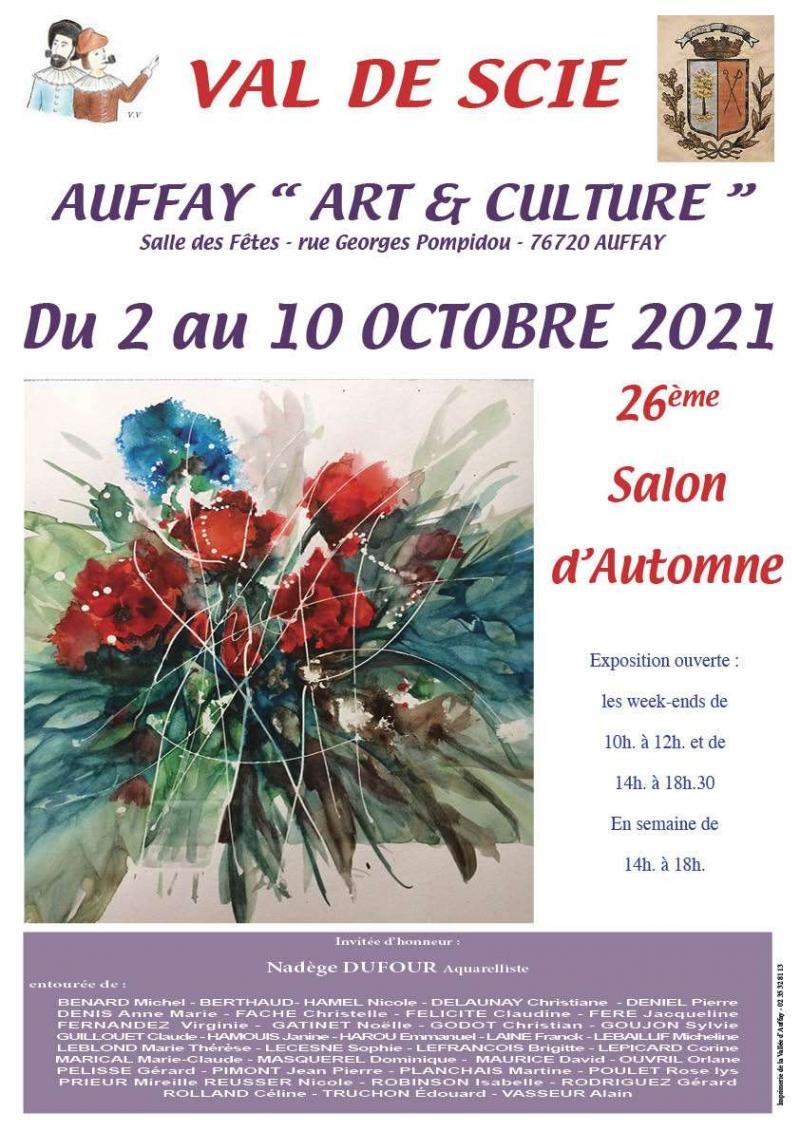 Salon d'automne - AUFFAY (76)